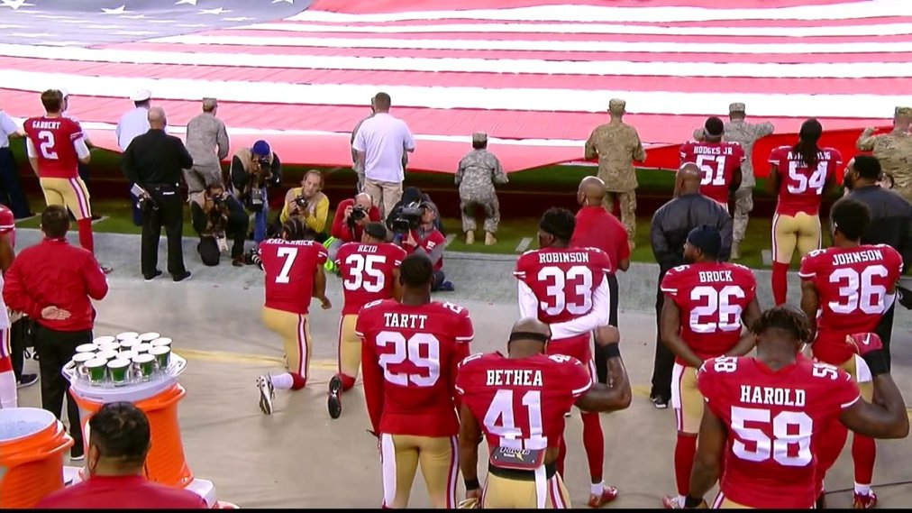 NFL Protests and the American Flag
